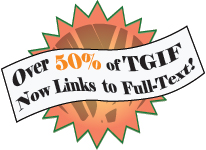 Over 50% of TGIF now links to full-text