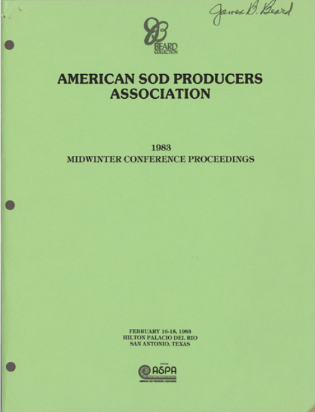 American Sod Producers Association Midwinter Conference Proceedings.png