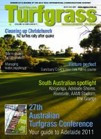 Australian Turfgrass Management Journal cover